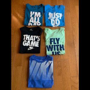 Boys Nike shirts